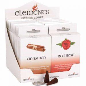 mixed incense cones