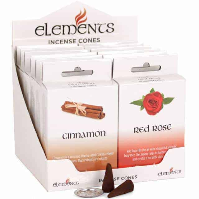 mixed incense cones