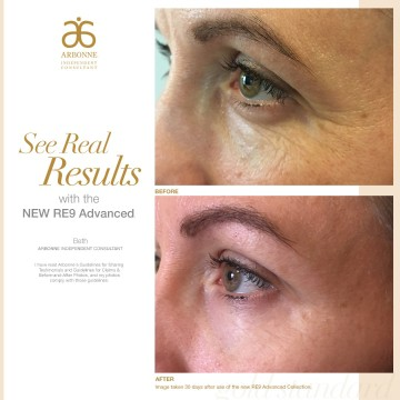 See real results with Arbonne
